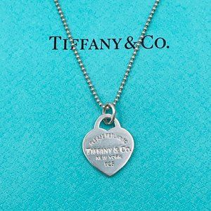 Authentic Tiffany & Co. Return To Tiffany Necklace